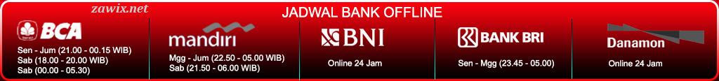 Jadwal Bank Offline CapsaBandarQ.com Capsa Online, Agen Bandar Q, Domino 99, Qiu Qiu Online, BandarQ