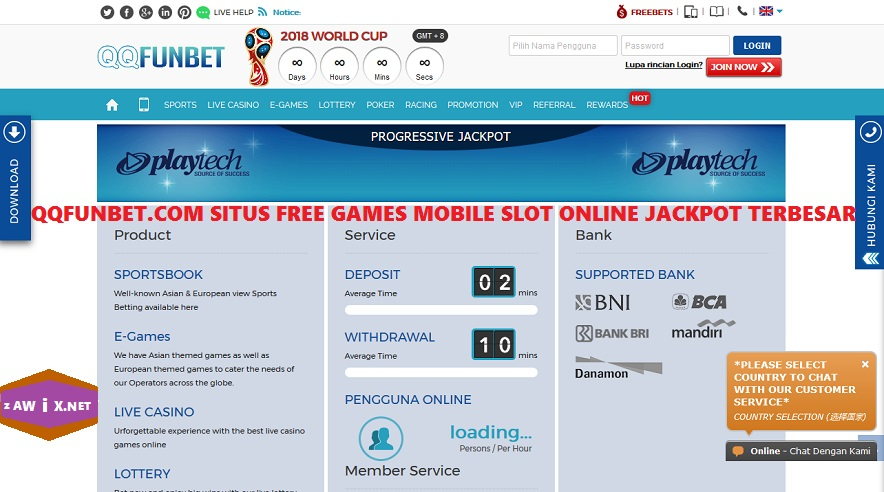 Qqfunbet Com Situs Free Games Mobile Slot Online Jackpot Terbesar