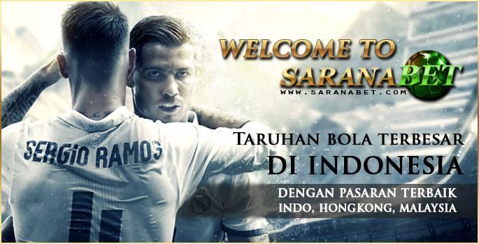 SaranaBet.com Situs Agen Judi Bola & Bandar Casino Terpercaya Indonesia